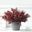 ราคาถูก ดอกไม้ประดิษฐ์-พืชจำลองพวงบ้านหวายวิลโลว์ดอกไม้ปลอมพืชสีเขียว