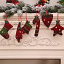 olcso Karácsonyi dekoráció-6db karácsonyi dekoráció ajándékok fa dísz otthoni party