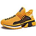 Χαμηλού Κόστους Αντρικά Αθλητικά Παπούτσια-Ανδρικά Παπούτσια άνεσης Δίχτυ Φθινόπωρο & Χειμώνας Αθλητικά Παπούτσια Τρέξιμο Μαύρο / Λευκό / Κίτρινο