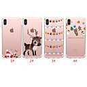 cheap iPhone Cases-Case For Apple iPhone 11 / iPhone 11 Pro / iPhone 11 Pro Max Translucent / Pattern Back Cover Christmas TPU
