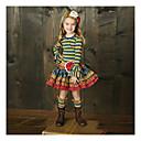 billige Pikekjoler-Barn Jente Grunnleggende Stripet Langermet Tøysett Regnbue