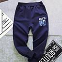 billige BabyGuttbukser-Baby Gutt Grunnleggende Trykt mønster Bukser Navyblå