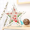 Χαμηλού Κόστους Κεριά & Κηροπήγια-Διακόσμηση Διακοπών Χριστουγεννιάτικα Διακοσμητικά Χριστουγεννιάτικα Φωτάκια / Χριστούγεννα / Χριστουγεννιάτικα στολίδια Φωτιστικό LED / Διακοσμητικό / Πρωτότυπες Μπεζ 1pc