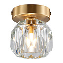 billige Island Lights-CXYlight Krystall Skyllmonteringslys Omgivelseslys Kobber Mini Stil Generisk
