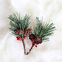 olcso Karácsonyi dekoráció-ünnepi dekorációk karácsonyi díszek karácsonyi díszek dekoratív erdő zöld 1db