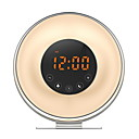 olcso Fali órák-Ébresztőóra LED Műanyagok LED 1 pcs