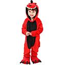 ราคาถูก ชุดนอน Kigurumi-Kigurumi Pajama Dinosaur Onesie Pajama ผ้าสำลี สีแดง คอสเพลย์ สำหรับ เด็กชายและเด็กหญิง สัตว์ชุดนอน การ์ตูน Festival / Holiday เครื่องแต่งกาย