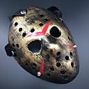 billige Halloweenutstyr-Maske Halloween Utstyr Halloweenmaske Inspirert av Spøkelse Jason Skummel film Svart Svart Gull Masker Halloween Halloween Herre Dame