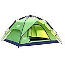 Χαμηλού Κόστους Σκηνές και υπόστεγα-DesertFox® 3 άτομα Αυτόματη Τέντα Εξωτερική Αδιάβροχη Ανθεκτικό στην υπεριώδη ακτινοβολία Διπλής στρώσης Αυτόματο Θόλος Camping Σκηνή 2000-3000 mm για Κατασκήνωση & Πεζοπορία Ταξίδι Για Υπαίθρια Χρήση