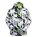 ราคาถูก ชุดสำหรับเล่นกีฬาสกี-MUTUSNOW สำหรับผู้ชาย Ski Jacket กันน้ำ กันลม Warm Skiing Snowboarding กีฬาฤดูหนาว เส้นใยสังเคราะห์ เสื้อแจ็คเก็ต Ski Wear