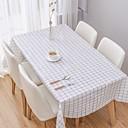 billige Duker-Fritid polyesterfiber Kvadrat Duge Stripet Borddekorasjoner
