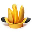 olcso Konyhai eszközök Kiegészítők-1db mangó splitter szeletelő gyümölcsvágó pitter kézműves konyhai szerszám vágó őszibarack gyümölcs splitter nagy mangó vágó gödör eltávolító