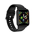 billige Smartklokker-kw19 smartklokke bt fitness tracker support varsle / pulsmåler sport smartwatch kompatibel iphone / samsung / android telefoner