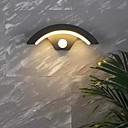 Χαμηλού Κόστους Ξεπλύνετε φώτα τοίχο Όρος-Αδιάβροχη / Νεό Σχέδιο Μοντέρνα Φωτιστικά Εξωτερικών Τοίχων Σαλόνι / Υπαίθριο αλουμίνιο Wall Light IP65 Γενικός 12 W