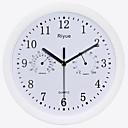 baratos Relógios de Parede Rústicos-Contemporâneo Moderno Aço Inoxidável Redonda Interior