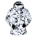 povoljno Skijaška i snowboard odjeća-MUTUSNOW Muškarci Skijaška jakna Skijanje Snowboarding Zimski sportovi Vodootporno Vjetronepropusnost Toplo Poliester Jakna Skijaška odjeća / Zima