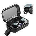 billige TWS Sann trådløse hodetelefoner-LITBest X6 TWS True Wireless Hodetelefon Trådløs Sport og trening Bluetooth 5.0 Stereo Dual Drivers Med mikrofon
