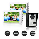 olcso Videó kaputelefonok-vezetékes 7 hüvelykes kihangosító nélküli 800 * 480 képpont méretű, egy-egy videó ajtótelefon