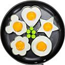 baratos Frascos e Caixas-5 pçs / set ovo frito panqueca shaper omelete molde molde fritar ovo cozinhar ferramentas acessórios de cozinha acessórios gadget anéis