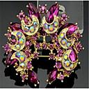ราคาถูก เข็มกลัด-สำหรับผู้หญิง Cubic Zirconia เข็มกลัด ทางเรขาคณิต Flower Stylish เข็มกลัด เครื่องประดับ ทอง สำหรับ คริสมาสต์ ทุกวัน