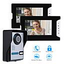 olcso Videó kaputelefonok-Vezetékes 7 hüvelyk Hands free 800*480 Pixel Egy-két kamerás videó kaputelefon