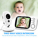 Χαμηλού Κόστους Συσκευές Παρακολούθησης Μωρού-ψηφιακό 3mp cmos ασύρματο 6mm φακό νυχτερινή όραση οθόνη μωρού αμφίδρομη ενδοεπικοινωνία ip κάμερα εμφάνιση θερμοκρασίας ακουστικό εξοικονόμηση ενέργειας λειτουργία home camera security