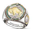 baratos Anéis Masculinos-Homens Anel 1pç Dourado Latão Forma Geométrica Fashion Diário Feriado Jóias Geométrico Animal Legal