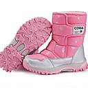 ราคาถูก สายสะพานสำหรับปาร์ตี้-เด็กผู้หญิง รองเท้าบู้ทใส่สำหรับหิมะ หนังนิ่ม บูท เด็กน้อย (4-7ys) สีดำ / สีม่วง / สีชมพู ฤดูหนาว / บู้ทสูงระดับกลาง
