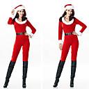 Χαμηλού Κόστους Santa Suits & Χριστούγεννα-Άγιος Βασίλης Στολές Ηρώων Γυναικεία Ενηλίκων ΜΑΣΚΕ παρτυ Χριστούγεννα Χριστούγεννα Βαμβάκι Στολή γάτας / Καπέλο