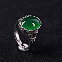 baratos Artigos de Forno-Diana princesa anel de casamento kate ajustável anel de esmeralda real natural acessório de ouro branco anel de noivado feminino