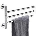 Χαμηλού Κόστους Ράβδοι για πετσέτες-Κρεμάστρα Νεό Σχέδιο / Απίθανο Σύγχρονο Ανοξείδωτο Ατσάλι 1pc 3 μπαρ πετσετών Επιτοίχιες