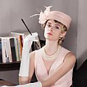 Χαμηλού Κόστους Καπέλα και Διακοσμητικά-Γυναίκα Πάρτι Καλοκαίρι Λινό Κλος καπέλο