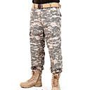 ราคาถูก เสื้อผ้าจากสัตว์-สำหรับผู้ชาย Camouflage Hunting Pants รักษาให้อุ่น กันลม ระบายอากาศ ป้องกันไฟฟ้าสถิตย์ ฤดูใบไม้ผลิ ฤดูร้อน ตก อำพราง เสื้อเชิ้ต Tops สำหรับ แคมป์ปิ้ง & การปีนเขา การล่าสัตว์ การตกปลา สีดำ ACU สี CP สี
