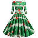 お買い得  クリスマス用コスチューム-オードリー・ヘップバーン ドレス 女性用 成人 クリスマス クリスマス クリスマス ポリエステル ドレス