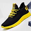 Χαμηλού Κόστους Αντρικά Αθλητικά Παπούτσια-Ανδρικά Παπούτσια άνεσης Πανί Χειμώνας Αθλητικά Παπούτσια Μπότες στη Μέση της Γάμπας Λευκό / Κίτρινο / Κόκκινο