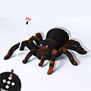 billiga Skämt och spratt-Halloweenleksaker Spindel leksaker Fjärrkontroll Skräcktema SPIDER Järn Tyg LED 1 pcs Barn Vuxen Alla Leksaker Present