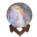 Χαμηλού Κόστους Βάζα & Καλάθι-3d οδήγησε φως φεγγάρι οδήγησε νυχτερινό φως φως του φεγγαριού αφής δώρο παιδιά