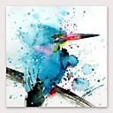 ราคาถูก ภาพวาดสัตว์-ภาพวาดสีน้ำมันแขวนทาสี มือวาด - แอ็ปสแต็ก ที่ทันสมัย รวมถึงด้านในกรอบ