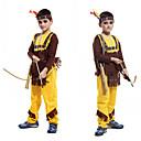 ราคาถูก ชุดพื้นบ้าน ชุดท้องถิ่น-นักสู้โบราณโรมัน สำหรับเด็ก เด็กผู้ชาย คอสเพลย์ ชาติพันธุ์ และ ทางด้านเชืิ้อชาติ กางเกง เครื่องประดับศรีษะ Outfits สำหรับ ปาร์ตี้ Halloween สเปนเดก / Top / ที่คาดผม