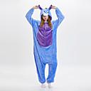 ราคาถูก ชุดนอน Kigurumi-ผู้ใหญ่ Kigurumi Pajama Donkey Onesie Pajama ผ้าสักหลาด ฟ้า คอสเพลย์ สำหรับ ผู้ชายและผู้หญิง สัตว์ชุดนอน การ์ตูน Festival / Holiday เครื่องแต่งกาย