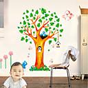 povoljno Zidne naljepnice-ay9125 crtani zid naljepnica za male životinje velika kućica za životinje dječja soba ukras prijenosnih zidnih naljepnica