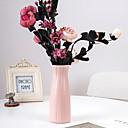 Χαμηλού Κόστους Βάζα & Καλάθι-1 τεμάχιο πλαστικό βάζο σκανδιναβικό στιλ στερεό χρώμα ξηρό δοχείο λουλουδιών