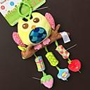 billiga Babyleksaker-babyfans ™ bebis vackra björn formade fyllda musik röst flexibel aktivitets pedagogiska hängande leksaker