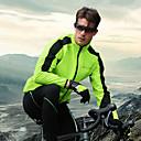 Χαμηλού Κόστους Σετ Μπλούζες & Σορτσάκια/Παντελόνια Ποδηλασίας-Nuckily Ανδρικά Μακρυμάνικο Μπουφάν και παντελόνι ποδηλασίας Χειμώνας Προβιά Σιλικόνη Πράσινο Κόκκινο Μπλε Ποδήλατο Ρούχα σύνολα Διατηρείτε Ζεστό Αδιάβροχη Αντιανεμικό Αναπνέει 3D Pad Αθλητισμός