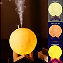 olcso párásítók-880ml légnedvesítő 3d hold lámpa fényszóró aroma illóolaj usb újratöltése ultrahangos nedvesítőszer hideg ködtisztító