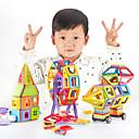 povoljno Sportske igračke-Magnetski blok Magnetske pločice Kocke za slaganje 168 pcs Roboti Munkagépek kompatibilan Legoing S magnetom Uradi sam Obrazovanje Dječaci Djevojčice Igračke za kućne ljubimce Poklon