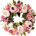 Χαμηλού Κόστους Ψεύτικα Λουλούδια & Βάζα-Ψεύτικα λουλούδια 1 Κλαδί Κλασσικό Μοντέρνα Παιώνιες Λουλούδι Τοίχου