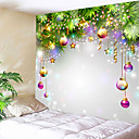 Χαμηλού Κόστους Christmas Stickers-Διακοπών Wall Διακόσμηση 100% Πολυέστερ Πρωτοχρονιά Wall Art, Ταπετσαρίες τοίχου Διακόσμηση