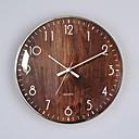 olcso Fali órák-nem ketyeg csendes falióra fa dekorációval