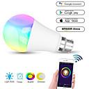 billige Smartlamper-wifi smart lyspære bryter dimbar flerfarget våkne lys ingen nav kreves kompatibel med alexa / google home